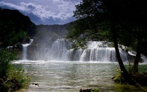 Ausflugsziele Insel Vir Krker Wasserfälle